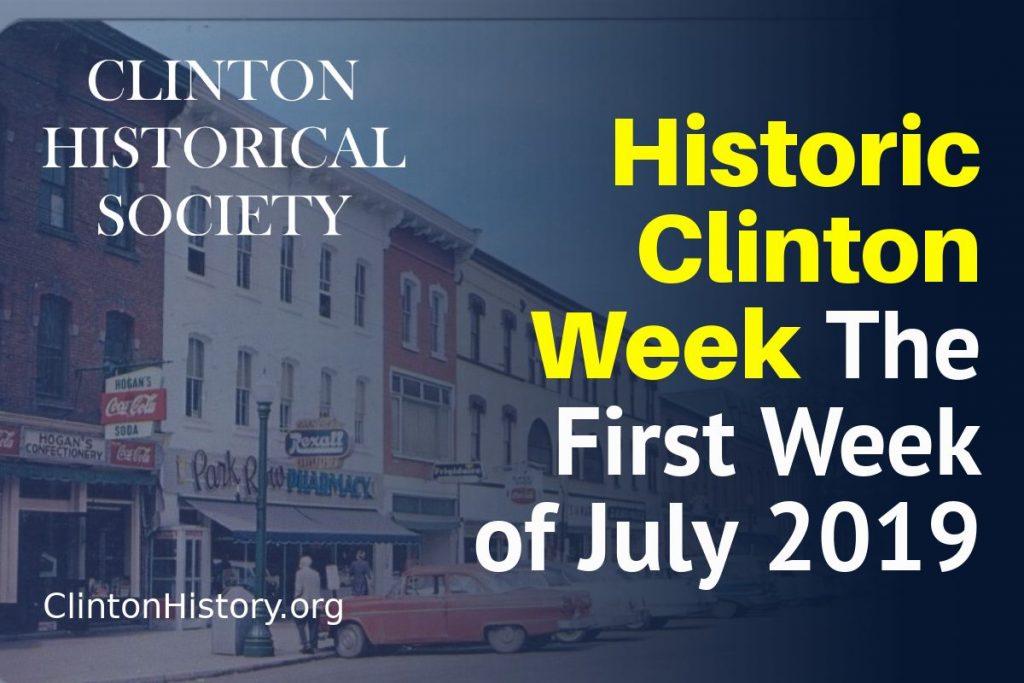 Historic Clinton Week